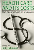 Health Care and Its Costs