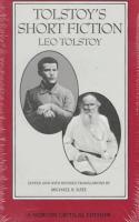 Tolstoy's Short Fiction