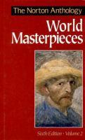 The Norton Anthology of World Masterpieces