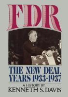 FDR, the New Deal Years, 1933-1937