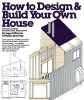 How to Design & Build your Own House