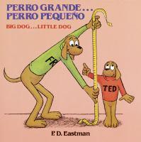 Perro grande-- perro pequeño