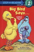 Big Bird Says
