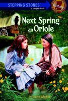 Next Spring An Oriole