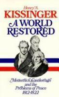 A World Restored