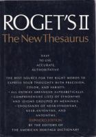 Roget's II