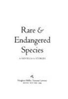 Rare & Endangered Species