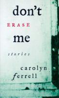 Don't Erase Me