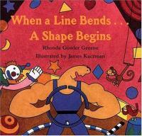 When A Line Bends--a Shape Begins