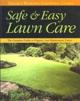 Safe and Easy Lawn Care