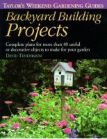 Backyard Building Projects