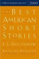 The Best American Short Stories. : Selected From U.S. and Canadian Magazines