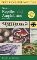 Field Guide to Western Reptiles and Amphibians