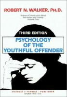 Psychology of the Youthful Offender