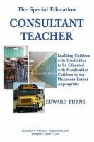 The Special Education Consultant Teacher