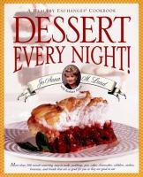 Dessert Every Night!