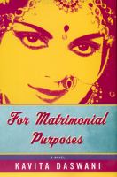 For Matrimonial Purposes