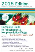Complete Guide To Prescription & Nonprescription Drugs