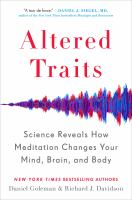 Image: Altered Traits