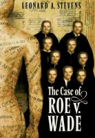 The Case of Roe V. Wade