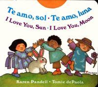 Te Amo, Sol, Te Amo, Luna