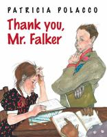 Cover of Thank you, Mr. Falker