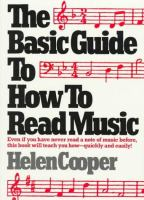 The Basic Guide to How to Read Music