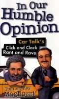 In Our Humble Opinion