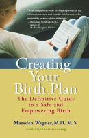 Creating your Birth Plan