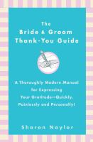 The Bride and Groom Thank-you Guide