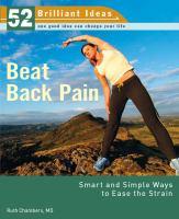 Beat Back Pain
