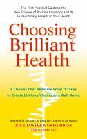 Choosing Brilliant Health