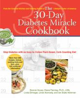 The 30-day Diabetes Miracle Cookbook