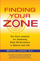 Finding your Zone