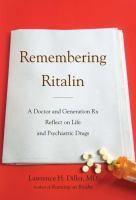 Remembering Ritalin
