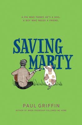 Saving Marty book jacket