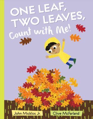 One Leaf, Two Leaves, Count with Me! book jacket
