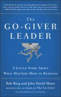 The Go-giver Leader