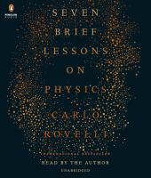 Image: Seven Brief Lessons on Physics