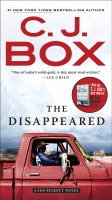 The Disappeared A Joe Pickett Novel.