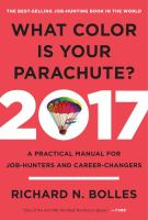 What Color Is your Parachute? 2017 Edition