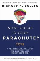 What Color Is your Parachute? 2018 Edition