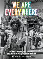 We are everywhere book cover