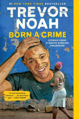 Trevor Noah Book club in a bag. Born a crime stories from a South African childhood.