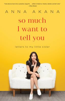 Cover image for So Much I Want to Tell You