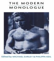 The Modern Monologue