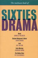 The Methuen Book of Sixties Drama