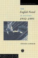 The English Novel in History, 1950-1995