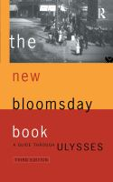 The New Bloomsday Book