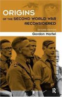 The Origins of the Second World War Reconsidered